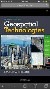 introduction to geospatial technologies (electronic copy) in Miramar, California