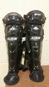 All-Star Player's Series - LG79PS - Junior Youth Catcher's Leg Guards in Fort Campbell, Kentucky