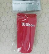 wilson youth soccer sock guard pink new size pewee in Quantico, Virginia