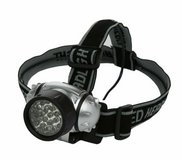 woods battery operated focus headlamp with 21 led bulbs (black) in Quantico, Virginia