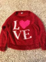 Juicy couture girls fuzzy sweater size S 6/8 in Joliet, Illinois