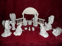 Dept 56 Inspirational Silhouette Miracle of Christmas with Manger in Bartlett, Illinois