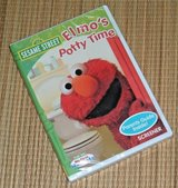 NEW Sesame Street Elmos Potty Time DVD w Bonus Parents Guide Inside in Plainfield, Illinois