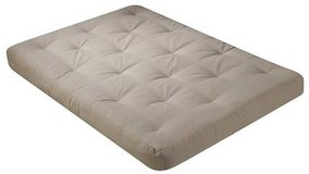 Serta Chestnut Double Sided Futon Mattress - 8 Inch -  Queen Size - Khaki - New! in Plainfield, Illinois