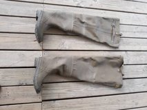 Stone Creek Size 10 Men Fishing Waders Rubber Hip Boots in Tomball, Texas