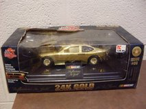 Bobby Hamilton 4 NASCAR 24K Gold Plated 1/24 Scale Die Cast (T=41) in Fort Campbell, Kentucky
