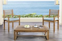 New! Acasia Wood 3Pc Patio Set FREE DELIVERY in Camp Pendleton, California