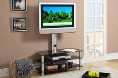 New! Beveled Glass TV Stand FREE DELIVERY in Camp Pendleton, California