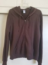 New dark brown ladies hoodie in a size large in Camp Pendleton, California