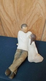 "Jim Shore Willow Tree ""Father and Daughter"" Figurine! in Kingwood, Texas"