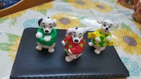 "3 Small 101 Dalmatians PVC Figures with Twistable bodies. Approx: 3"" tall in Kingwood, Texas"