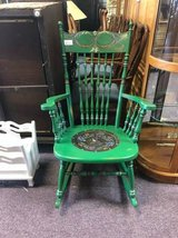 Colorful Rocking Chair in Naperville, Illinois