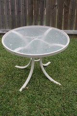 Round Patio Table in Spring, Texas