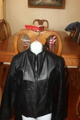 Ladies Leather Jacket Clio Size 10 in Spring, Texas