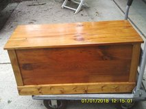 KNOTTY PINE CHEST TOY BOX in Naperville, Illinois