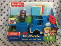 Fisher Price Little People Mailman Mail Truck Sending Love mail pieces in Joliet, Illinois