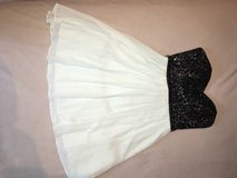 Short Pale Green and Black Strapless Dress - Size 5 in Chicago, Illinois
