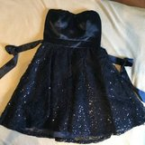 Short Navy formal dress -SZ3- good for homecoming, NYE, weddings, etc in Chicago, Illinois