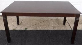 Like New! 5x3ft Espresso Brown Kitchen / Dining Table in Westmont, Illinois