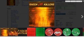 Queen – Live Killers  2LP Vinyl 1979 in Chicago, Illinois