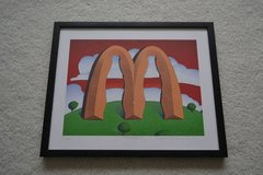 McDonald's & Coca-Cola Framed Picture in Orland Park, Illinois