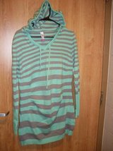 No Boundaries Sweater Hoodie Mint Stripe (T=37) in Fort Campbell, Kentucky