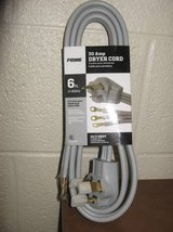 Prime RD100306L 3-Pole 3-Wire SRDT 30A 125/250-Volt Dryer Cord (T=44) in Fort Campbell, Kentucky