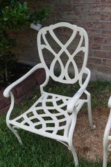 Four Metal Patio Chairs in Kingwood, Texas