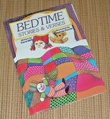 Vintage 1986 Bedtime Stories & Verses Retro Hard Cover Picture Book in Yorkville, Illinois