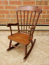 Wooden Child Rocking Chair in Chicago, Illinois