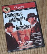 NEW Bootleggers Delinquents Gangsters 3 Movie DVD Boys Reformatory Dark Mountain in Joliet, Illinois