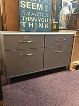 Sleek Grey Dresser in Chicago, Illinois