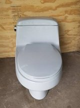 Toilet Eljer One Piece Low Profile Taupe in Bolingbrook, Illinois