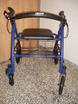 Drive Medical Four Wheel Walker in Fort Campbell, Kentucky
