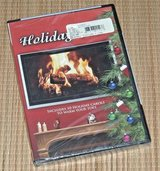 NEW Holiday Fire DVD Virtual Christmas Fireplace w Songs Music Bonus Camp Fire in Yorkville, Illinois