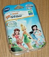 NEW vTech Disney Fairies Tinkerbell vSmile Motion Game Cartridge in Joliet, Illinois