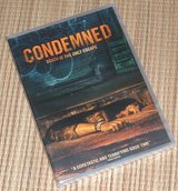 NEW Condemned DVD Death Is The Only Escape Goretastic Horror in Plainfield, Illinois