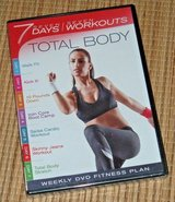 NEW Total Body DVD 7 Days 7 Workouts Exercise Fitness Walk Kick Core Cardio in Plainfield, Illinois