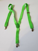SUSPENDERS * LIME GREEN * HALLOWEEN * COSTUME in Naperville, Illinois