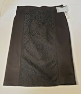 NEW SLIMFABULOUS STRAIGHT BLACK SKIRT SIZE ADULT SMALL in Naperville, Illinois