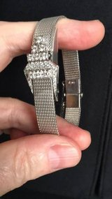 Baum and Mercier white gold watch with diamonds in Camp Lejeune, North Carolina