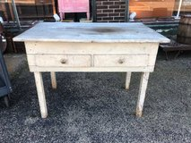 Rustic Work Table in Naperville, Illinois