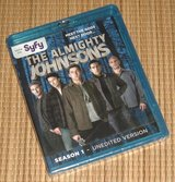 NEW The Almighty Johnsons Sesaon 1 BluRay 3 Disc Set Unedited Version SEALED in Plainfield, Illinois