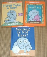 Lot of 3 Elephant Piggie Hard Cover Books Thank You Take A Nap Waiting Not Easy in Joliet, Illinois