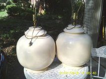 SET OF 2 LAMPS RETRO IN STYLE EXCELLENT CONDITION in Westmont, Illinois