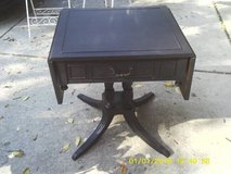 EAST LAKE ANTIQUE ORNATE TABLE ALL WOOD in Westmont, Illinois