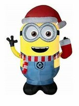 gemmy minion dave in santa hat large 9' christmas airblown inflatable in Wilmington, North Carolina