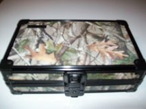 "vaultz locking supply box camo design black hardware 5 x2.5 x 8.5"" 12x 6x 20cm in Orland Park, Illinois"