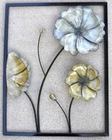 Metal Frame Open Floral Wall Art  / Decor in Bolingbrook, Illinois