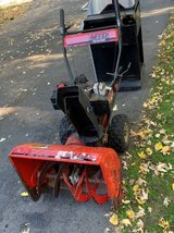 MTD YARD MACHINE 10HP 24 IN SNOWBLOWER IN EXCELLENT RUNNING CONDITION in Fort Drum, New York